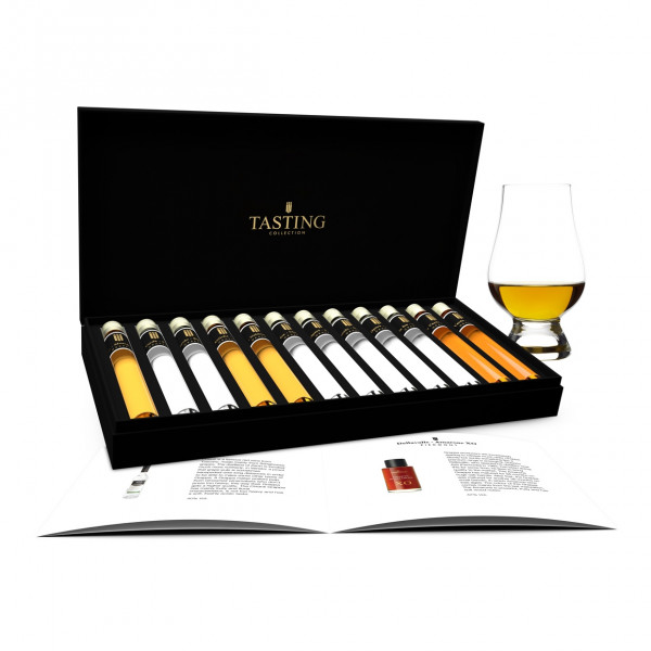 Grappa Tasting 12 Tubes in gift box