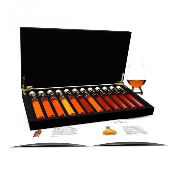 Rum Tasting 12 Tubes in wooden box