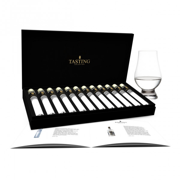 Vodka Tasting 12 Tubes in gift box