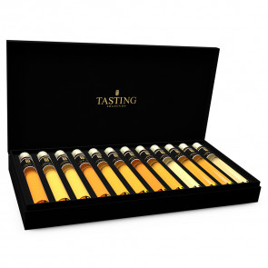 Whisky Tasting Collection 24 Tubes in Wooden Gift Box