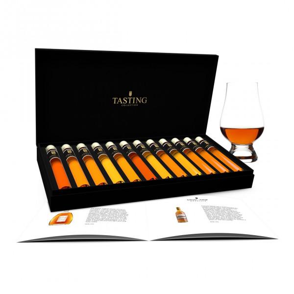 Cognac proeverij 12 Tubes in Luxe Doos