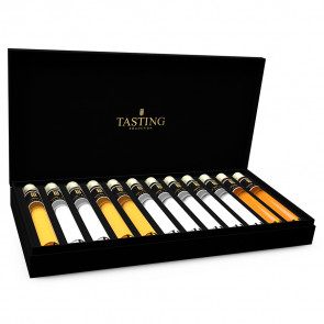 Grappa Tasting Collection 12 Tubes in Gift Box