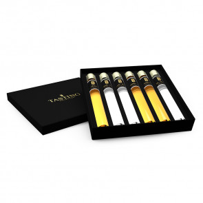 Grappa Tasting Collection 12 Tubes in Wooden Gift Box