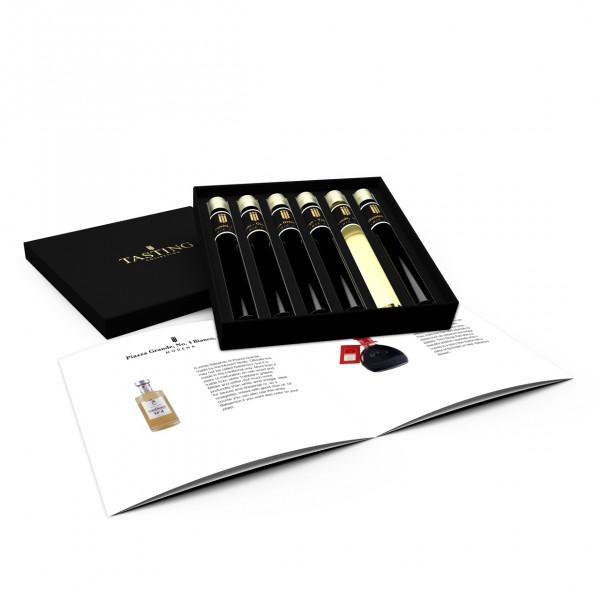 Balsamico Essig Probe 6 Tubes in Luxusbox