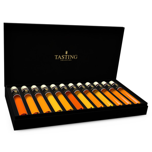 Cognac Tasting Collection 12 Tubes in Gift Box
