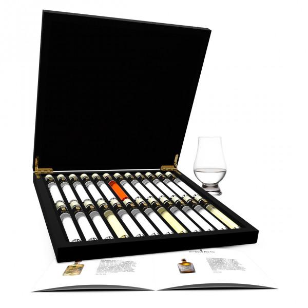 Gin Probe 24 Tubes in Luxusbox aus Holz