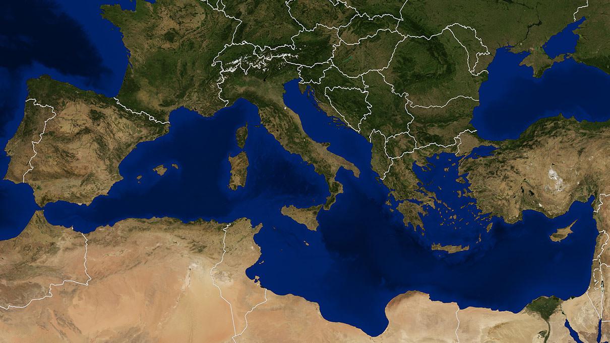 Olijfolie rond de Middellandse Zee