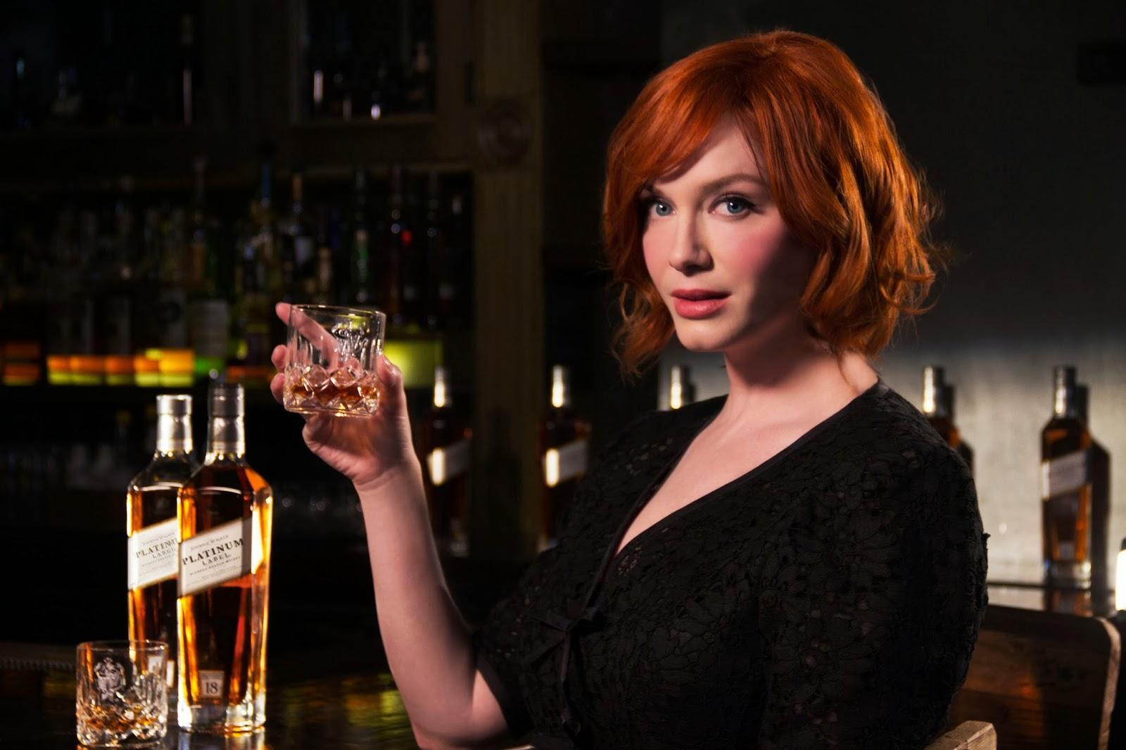 Christina Hendriks Mad Men Johnnie Walker