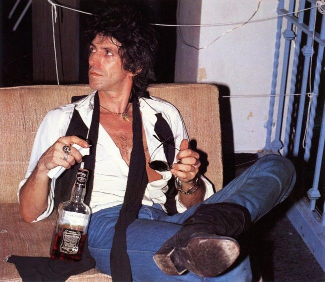 Keith Richards Jack Daniels