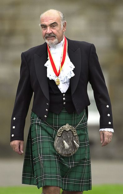 Sean Connery met Kilt